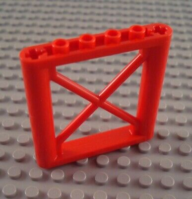 Lego Support 1 x 6 x 5 Girder Rectangular Pick Color and QTY 8 Colors LOT