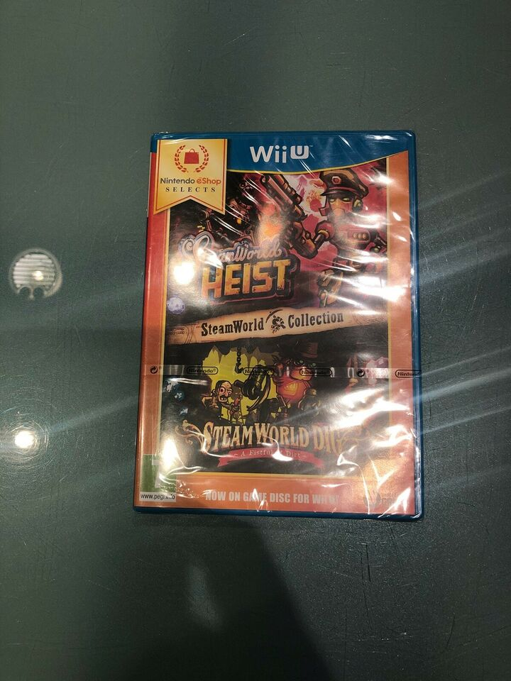 Steamworld Heist - Steamworld Dig, Nintendo Wii U,