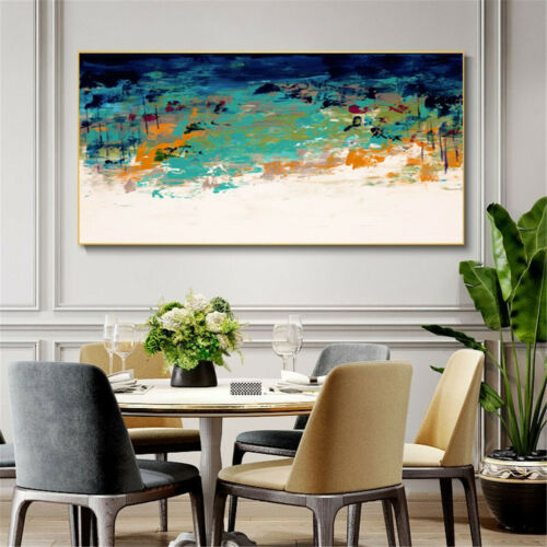 Watercolor Print Abstract Oil Painting Canvas Poster Art Modern Decor Unframed