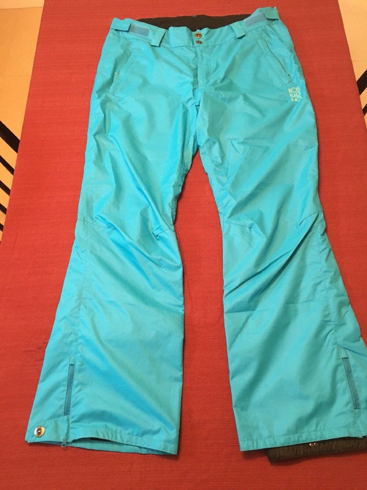 Rossignol, Mens Ski Pants Insulated XL Ocean bluee