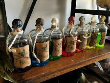 Cabinet de curiosités fiole de poison personnalisée choix bouchon et liquide