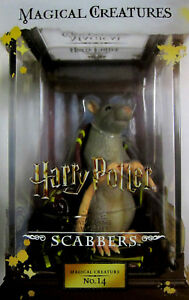 magical Creatures Beliebte Marke Harry Potter Scabbers Noble Collection Tropf-Trocken