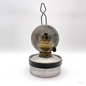 Antike Petroleumlampe, Öllampe, Wandlampe ohne Glas - Wandmontage 25cm