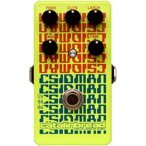 Catalinbread CSIDMAN Glitch Stutter Digital Delay Guitar Effects Pedal Stompbox