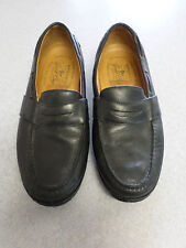"Sperry Top-Sider ""Gold Cup"" black leather penny loafers. Men's 10 M"