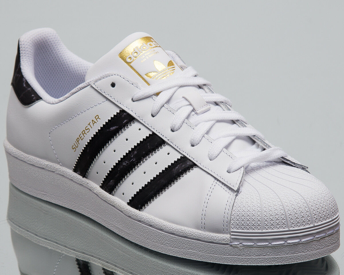 Adidas Originals Superstar Men New Sneakers Mens White Black gold shoes D96799