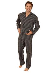 Gr Form Schlafanzug 52 Pyjama Schwarz 811918 Klassik BCXqBw