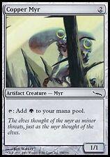 Copper Myr x4  LP Mirrodin MTG Magic Cards Artifact Common