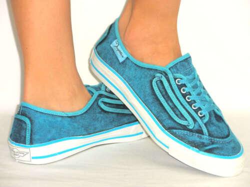 Comfy Lace Up Denim Sneaker Tennis Flat,RUBBER GRIP