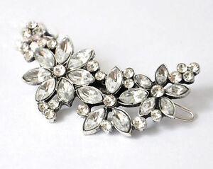 Bridal-Wedding-Prom-Hair-Accs-Crystal-Rhinestone-Diamante-Hair-Clip