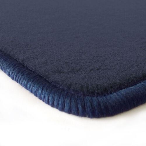 Velours dunkelblau Fußmatten für BMW X1 E84 ab´09