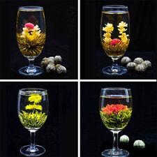 4 Stück Handgefertigter Blooming Tea Blumen Tee Teeblume Teekugel Flowering CATH