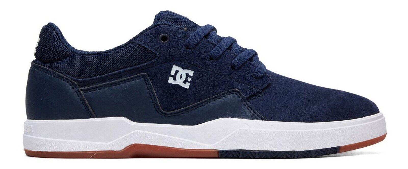 DC zapatos Men Barksdale-Navy blanco