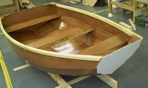 DIY Plans for Watch Bell 2.3 Rowing Sailing Dinghy - full printed plans