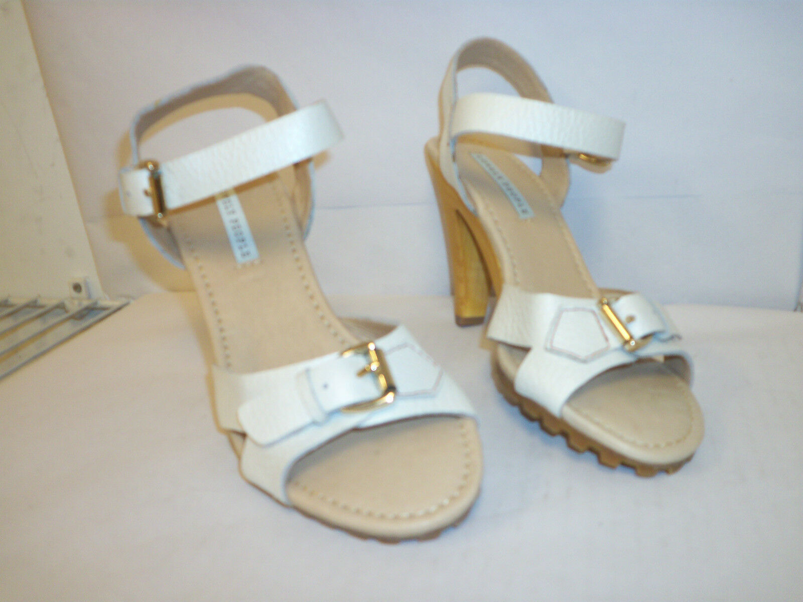 Lovely People New Donna Pansy 6.5 M Ankle Strap Heels Shoes