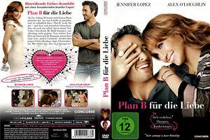 DVD PLAN B FÜR DIE LIEBE - ROMANTIK-KOMÖDIE - JENNIFER LOPEZ + ALEX O'LOUGHLIN *