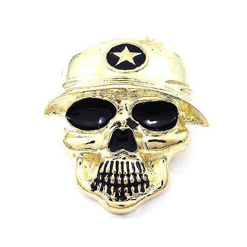 Famous Star Troop Military Soldier Skull Skeleton Hip Hop Metal Belt Buckle
