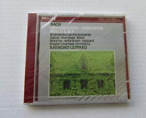 BACH-BRANDENBURG-CONCERTOS-ENGLISH-CHAMBER-RAYMOND-LEPPARD-CD-NEW-SEALED