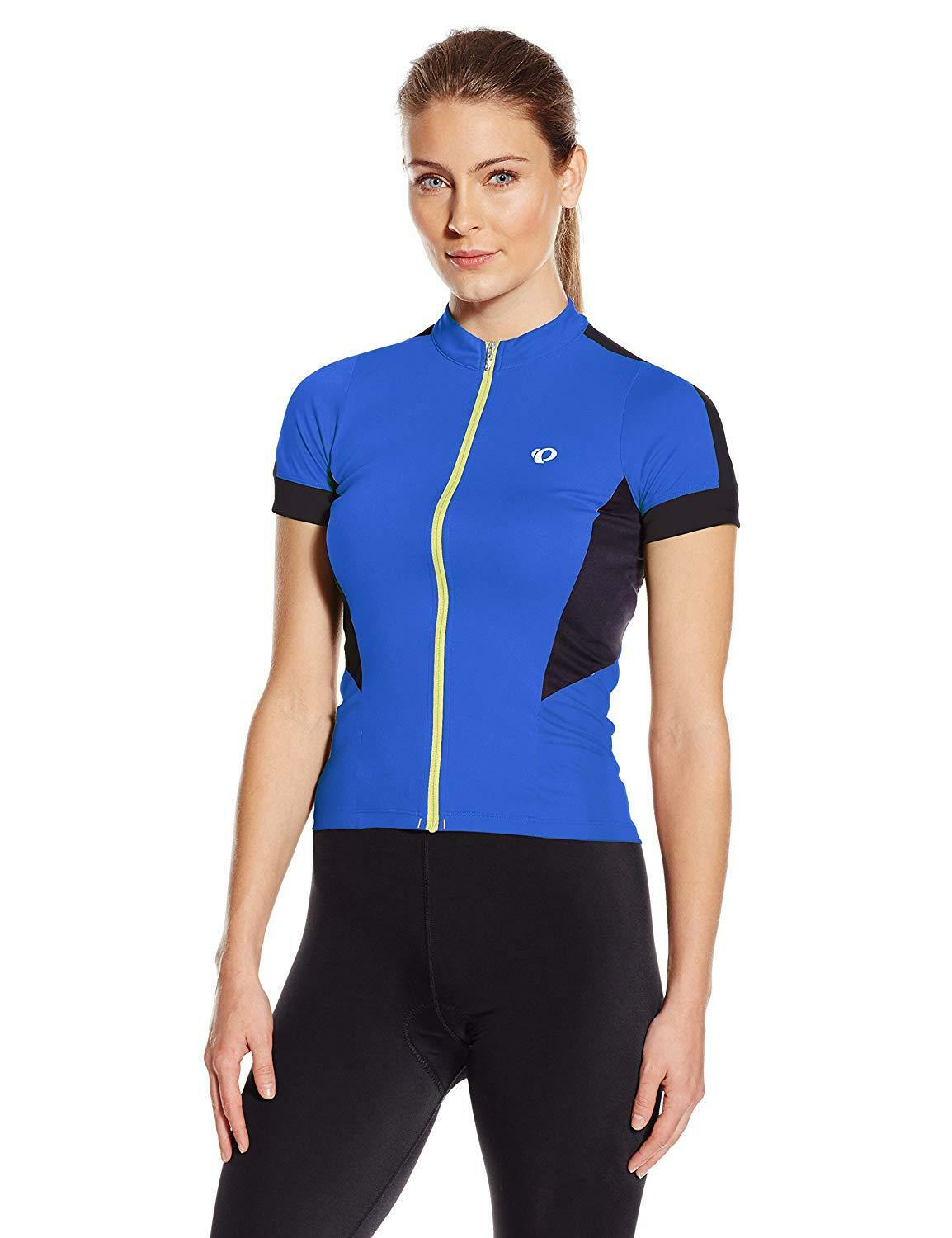 NWT Pearl Izumi Women's Elite Pursuit Jersey L Large Dazzling bluee Short Sleeve