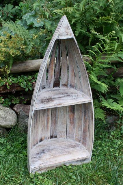 Schiffsregal maritimes Regal Badregal Holz Regal Boot Badezimmerregal Bootsregal