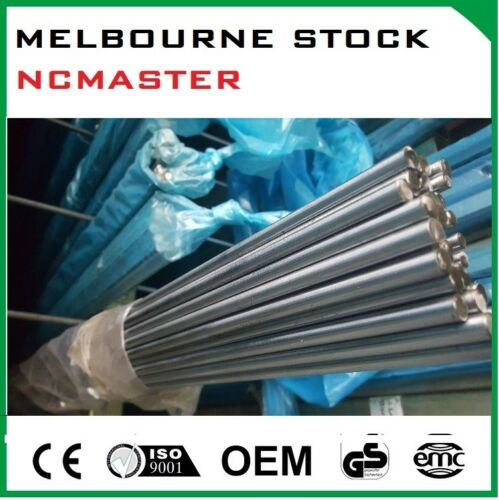25mm Round Solid Shaft 1000mm long Chromed Plated Hardened
