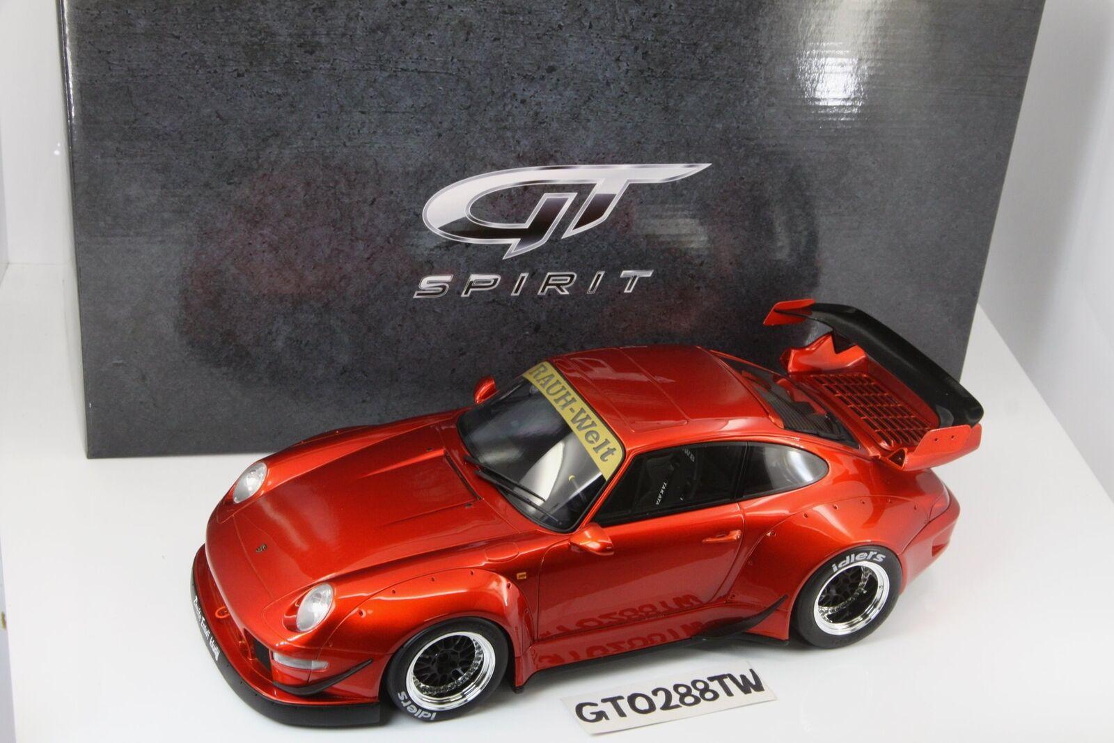 GT anda 1 12 Porsche 911 (993)RWB Candy röd (japan  Kyosho)