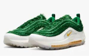 Details about NIKE AIR MAX 97 G NRG Grass Golf Shoes Men 7.5 Womens 9 CK4437-100 qs cleats