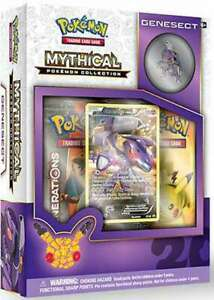 Mythical Collection Box Genesect Pokemon TCG Sealed English XY Generations