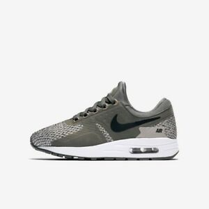 Nike-Air-Max-Zero-Essential-Boys-Girls-Trainer-Running-Shoe-River-Rock-Black-New