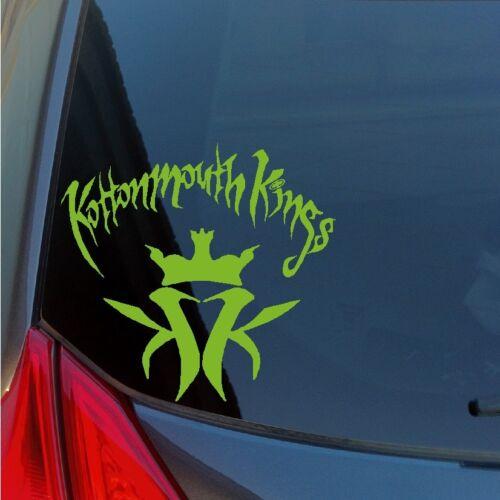 Kottonmouth Kings vinyl sticker decal rap hip hop hip-hop 420 Orange County OC