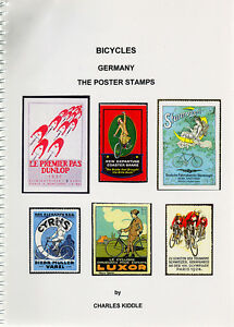 I-B-CK-Cinderella-Catalogue-Poster-Stamps-Bicycles-Germany