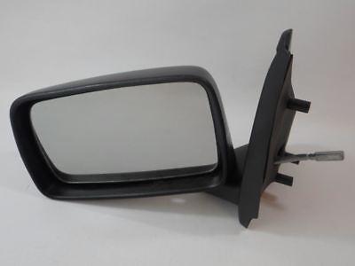 Ford Fiesta Mk3 1989-1994 Door Mirror Manual Black O//S Driver Right