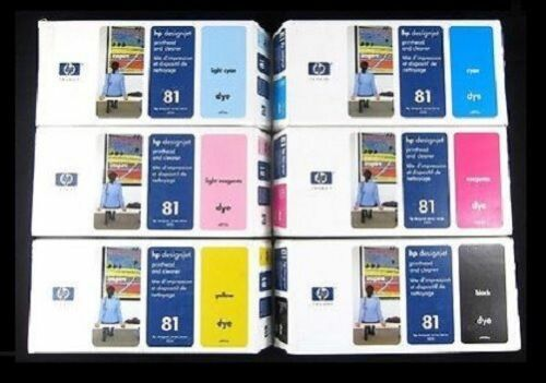81 C4950A C4951A C4952A C4953A HP Druckkopf Designjet 5000 5500 PS C4955A Nr