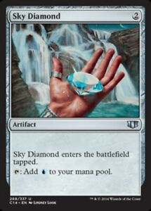 English Commander 2014 MTG Magic 1x Charcoal Diamond NM-Mint