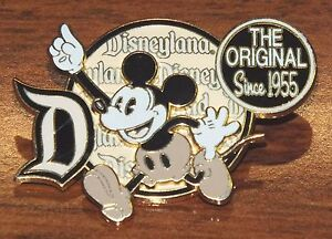 DisneyLand-The-Original-Since-1955-Collectible-2007-Mickey-Mouse-Trading-Pin
