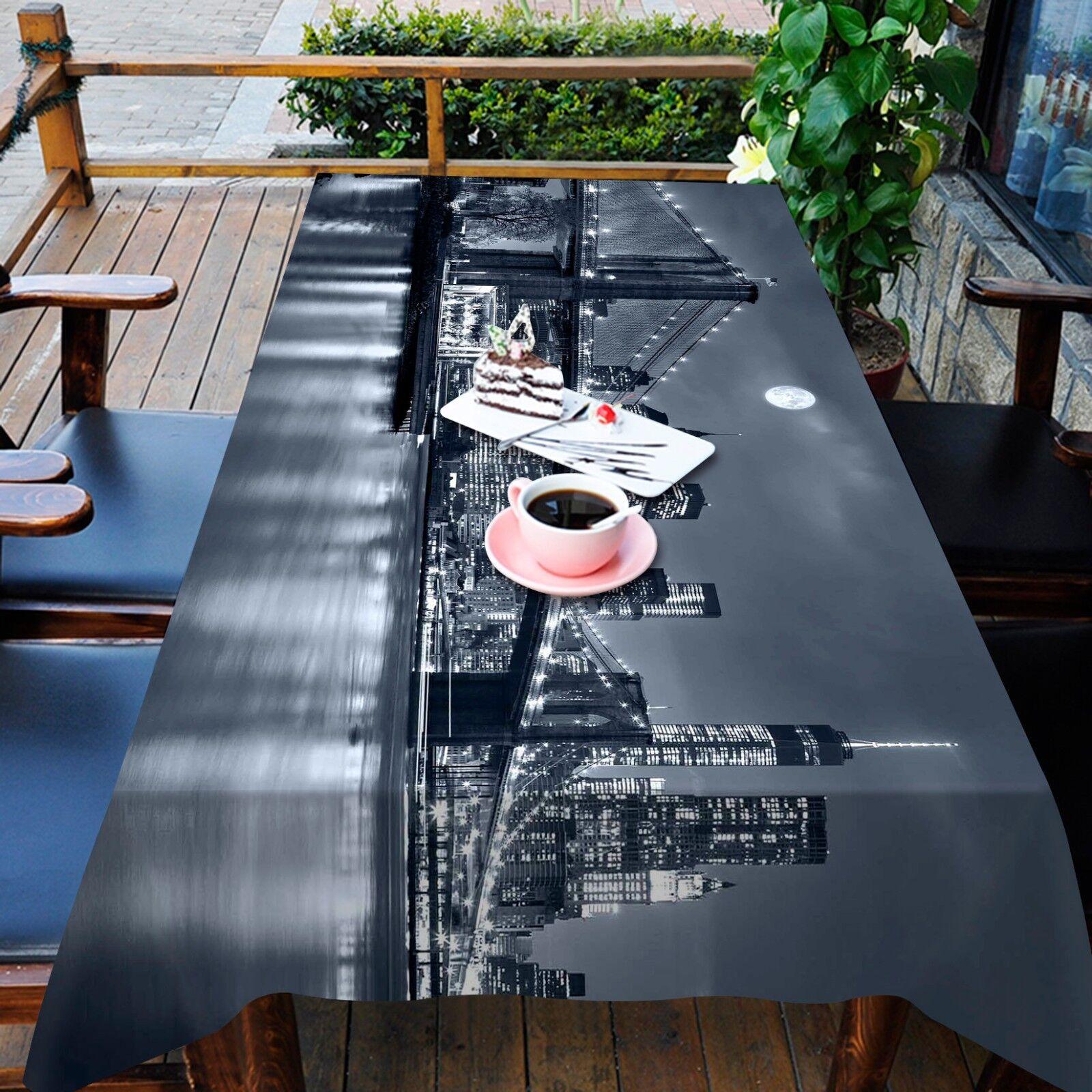 3D Bridge  435 Tablecloth Table Cover Cloth Birthday Party Event AJ WALLPAPER AU