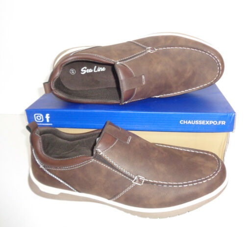 Mens Casual Slip On Walking Loafers Moccasin Driving Boat Shoes Sizes 6 7 8 9