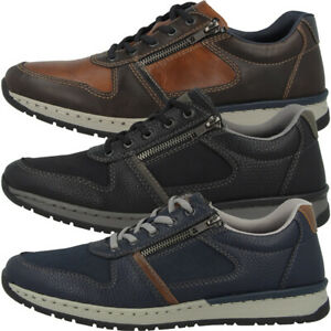 Details zu Rieker Halbschuhe Men Herren Antistress Schuhe Freizeit Sneaker Schnürer B5124