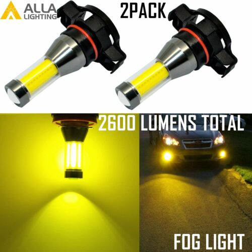 AllLighting LED 3000K 5201 Driving Fog Light Bulb Replacement Lamp Bright Yellow