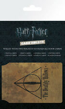 HARRY POTTER Deathly Hallows CARD HOLDER NEW CARDED BAGGED Official Merchandise