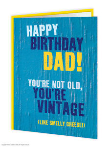 Brainbox candy dad father daddy birthday greeting cards rude funny image is loading brainbox candy dad father daddy birthday greeting cards m4hsunfo
