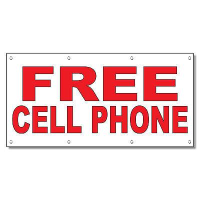 CELL PHONE REPAIR 2FT X 5FT VINYL BANNER