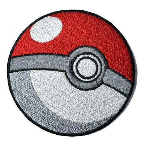 Pokeball pokemon Iron on Patch