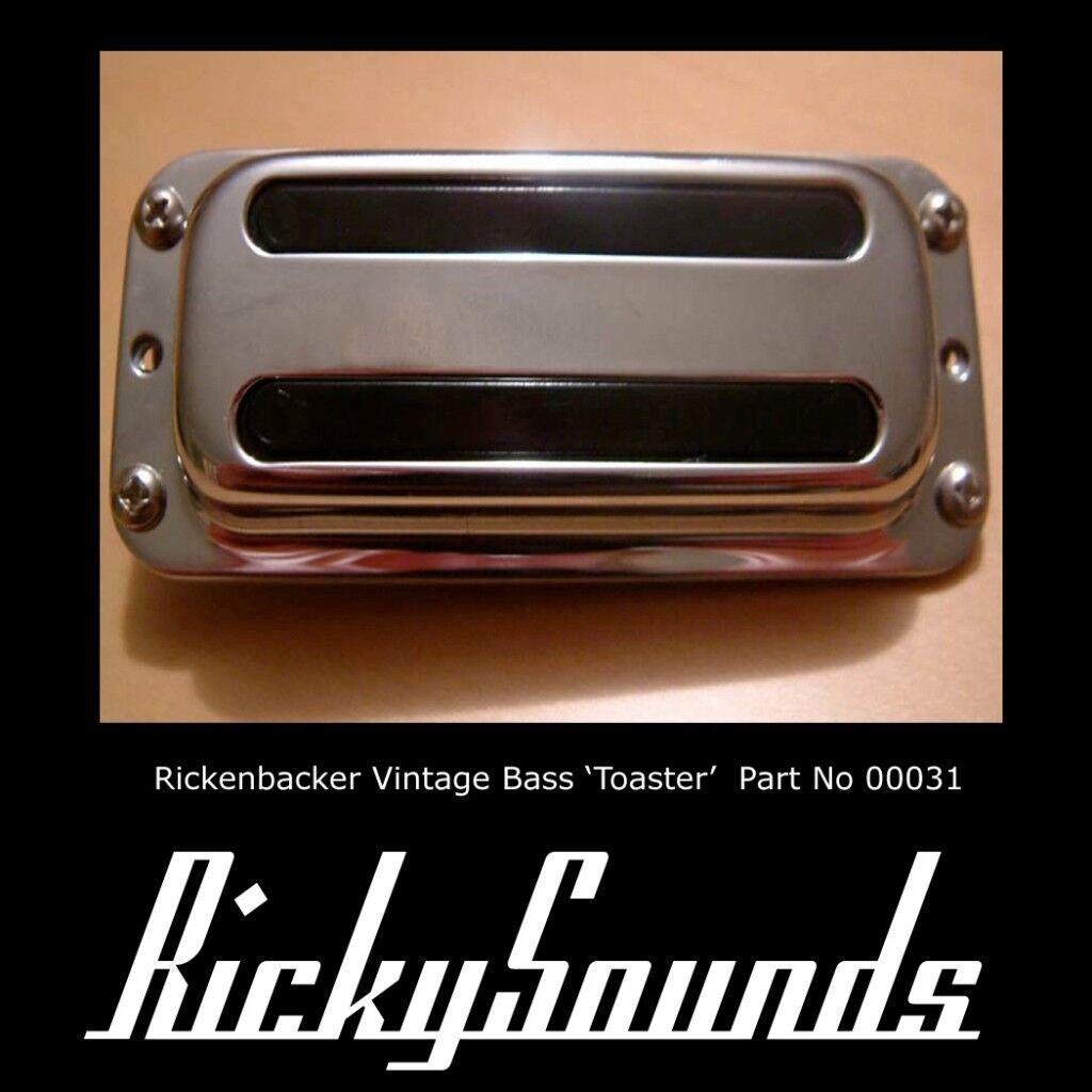 Rickenbacker Bass 7.4 K Toaster - It's die Sixties Wieder 00031