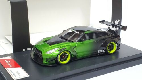 1:64 Nissan Skyline GT-R R35 LB Performance 2.0 Green Resin fuelme mce tp ig