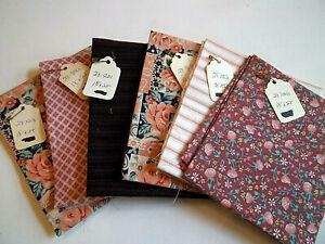 Bundle-of-6-Fat-Quarters-18-034-x-22-034-Quilter-039-s-Squares-Cotton-Suitable-for-Masks