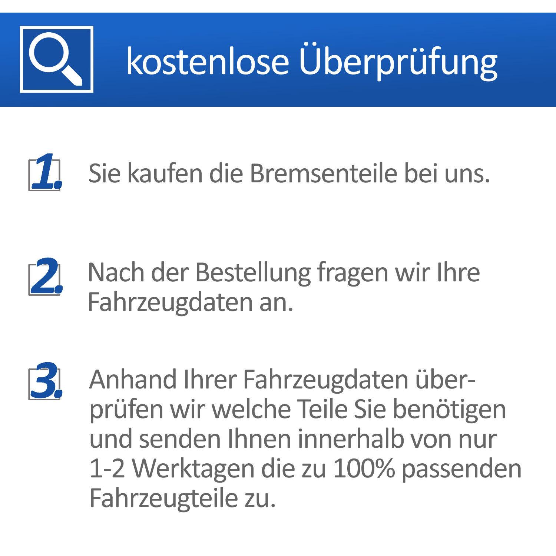 UAT Bremsbelagsatz Frein à Disque 13.0460-2785.2 Pour Audi Seat Skoda VW
