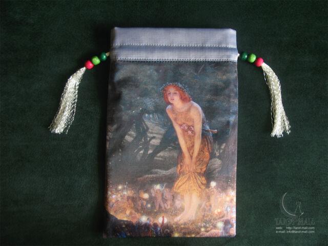"""Midsummer Eve"" - silk Tarot bag"