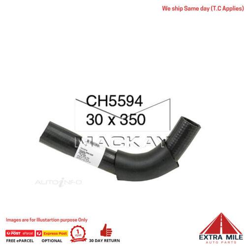 CH5594 Radiator Upper Hose for Toyota Corolla ZRE152R 1.8L I4 Petrol Manual /& Au
