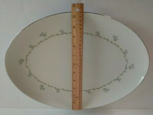 Fine China Wyndham Japan Abby 640 serving tray platter